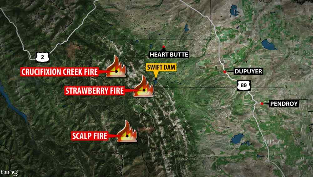 Strawberry Creek Fire Triggers Some Evacuations