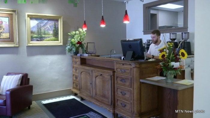 Reception Of Hotel Arvon Mtn News Photo