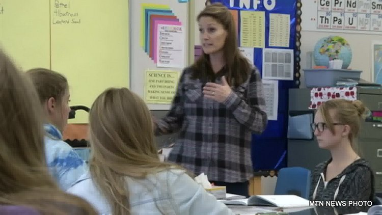 Great Falls science teacher brings South Pole to the classroom b ...