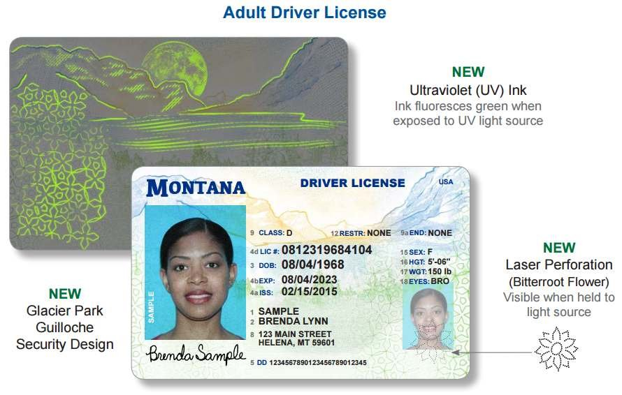 Montana Unveils New Driver License And Identification Cards Continuous News