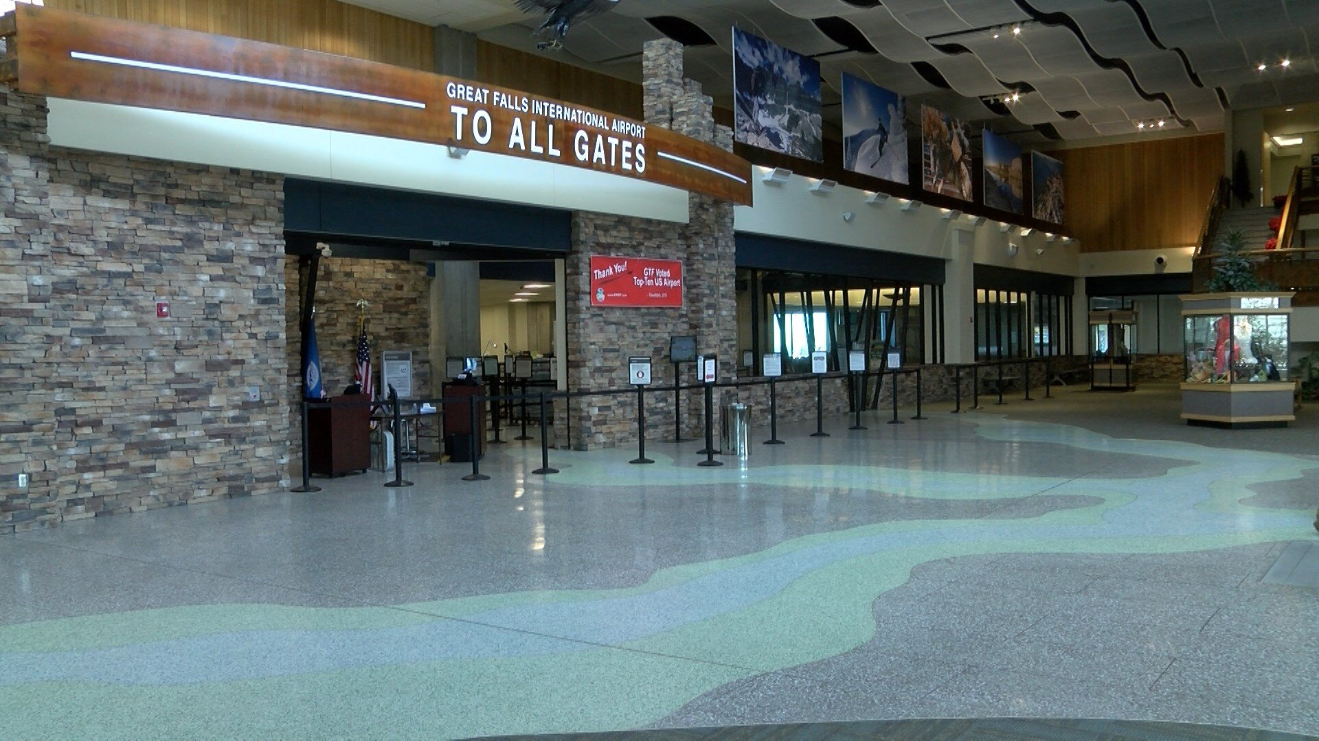 Great Falls International Airport is gearing up for the upcoming holiday travel.